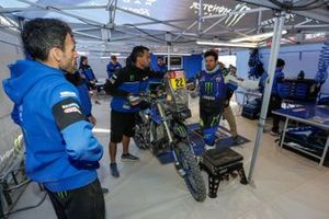 #22 Monster Energy Yamaha Rally Team: Franco Caimi