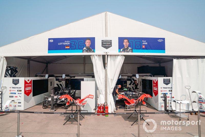 Garajes de Andre Lotterer, Porsche, Porsche 99x Electric, Neel Jani, Porsche, Porsche 99x Electric