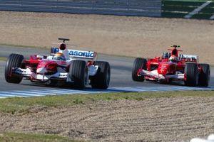Franck Perera, Toyota, Felipe Massa, Ferrari