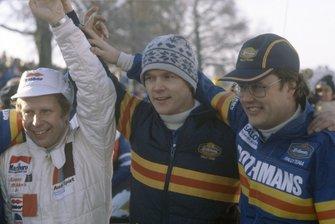 Hannu Mikkola, Ari Vatanen and Pentti Airikkala