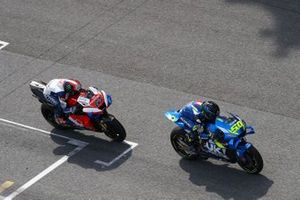 Sylvan Guintoli, Team Suzuki MotoGP, Francesco Bagnaia, Pramac Racing
