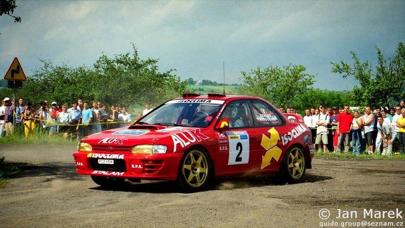 Gianmarino Zenere, Sauro Farnocchia, Subaru Impreza 555 Rajd Polski 1998