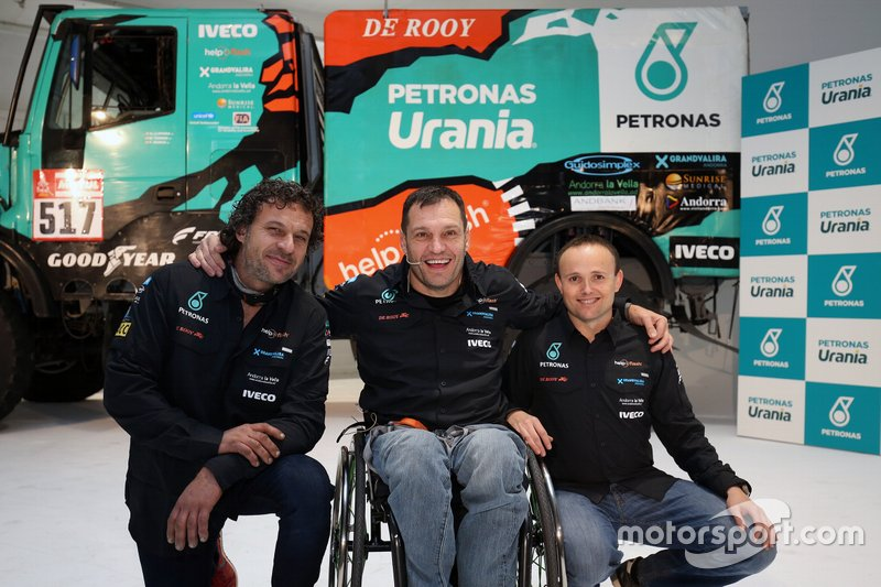 #517 Ferrán Marco, Marc Torres, Team De Rooy Iveco (junto a Albert Llovera)
