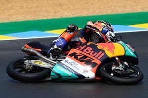 Pedro Acosta, Red Bull KTM Ajo crash