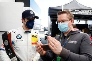 #10 Schubert Motorsport BMW M6 GT3: Jesse Krohn with Heiko Strizke, Motorsport-Totalcom