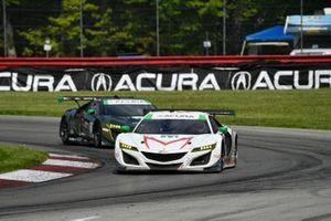 #44 Magnus with Archangel Acura NSX GT3, GTD: John Potter, Andy Lally, #66: Gradient Racing Acura NSX GT3, GTD: Till Bechtolsheimer, Marc Miller