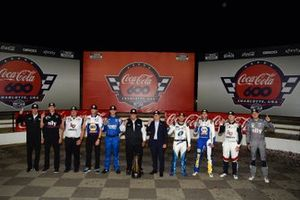 Hendrick Motorsports drivers and teams celebrate the teams record breaking 269th Cup Series win