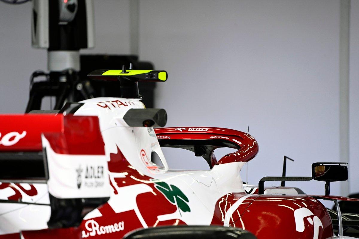 Detalle técnico del Alfa Romeo Racing C41