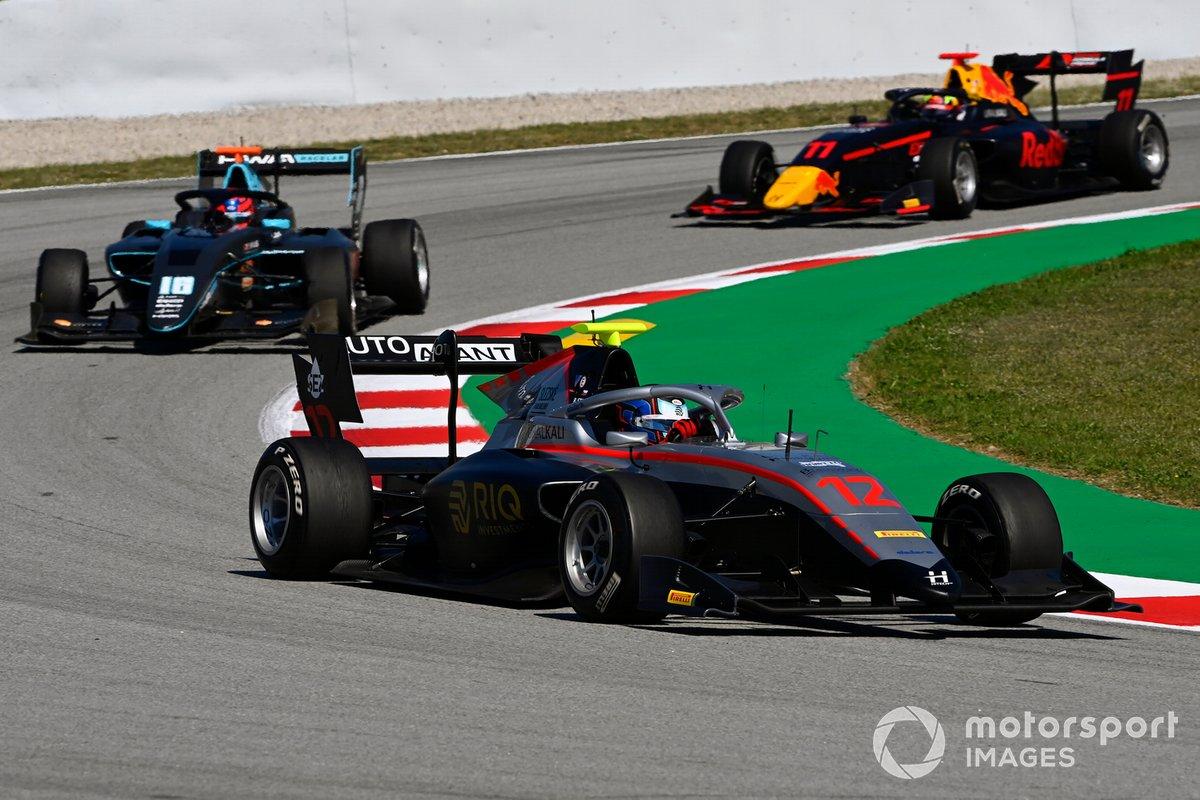 Roman Stanek, Hitech Grand Prix, Rafael Villagomez, HWA Racelab, Ayumu Iwasa, Hitech Grand Prix