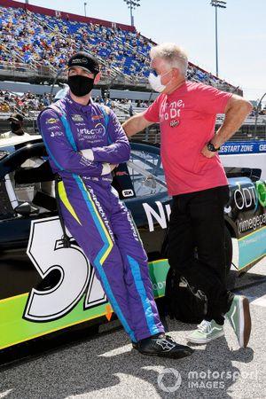 Cody Ware, Petty Ware Racing, mit Vater Rick Ware