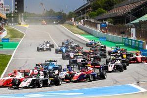 Olli Caldwell, Prema Racing, Frederik Vesti, ART Grand Prix, Clement Novalak, Trident