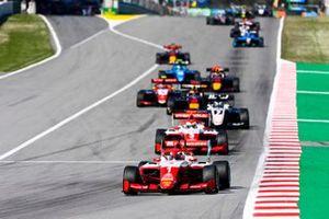 Dennis Hauger, Prema Racing, Olli Caldwell, Prema Racing, Frederik Vesti, ART Grand Prix