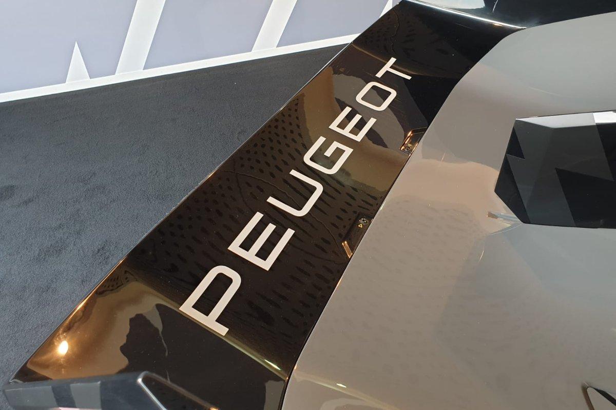 Detalles Peugeot Hypercar 9X8