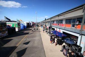 Supercars paddock