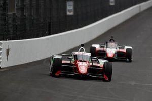 Santino Ferrucci, Rahal Letterman Lanigan Racing Honda, Pietro Fittipaldi, Dale Coyne Racing with RWR Honda