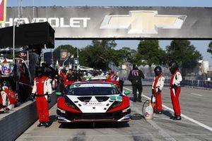 #1 Paul Miller Racing Lamborghini Huracan GT3, Madison Snow, Bryan Sellers