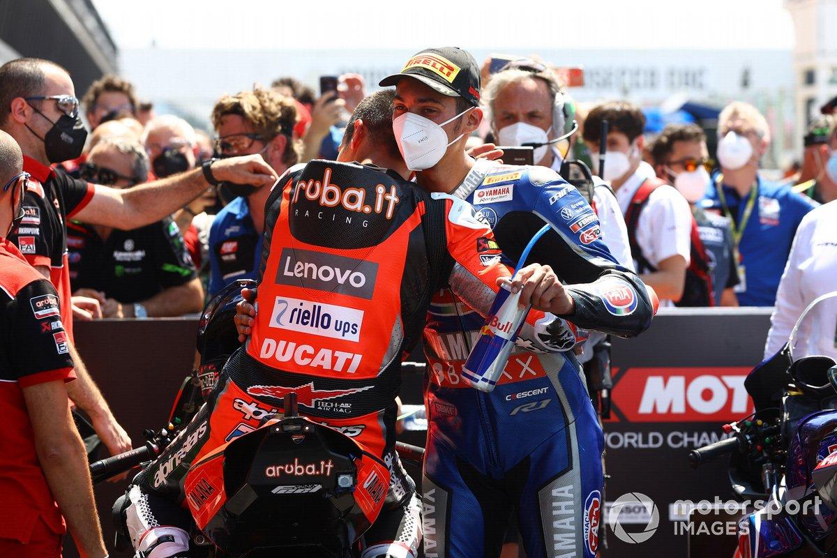 Michael Ruben Rinaldi, Aruba.It Racing - Ducati, Toprak Razgatlioglu, PATA Yamaha WorldSBK Team