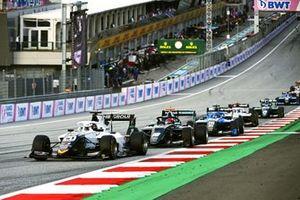 Pierre-Louis Chovet, Campos Racing, Rafael Villagomez, HWA Racelab, And Calan Williams, Jenzer Motorsport