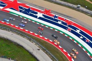 Daniel Hemric, Joe Gibbs Racing, Toyota Supra Poppy Bank and Gray Gaulding, Means Motorsports, Chevrolet Camaro Panini America