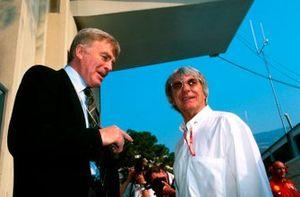 Max Mosley, Presidente de la FIA y Bernie Ecclestone, F1