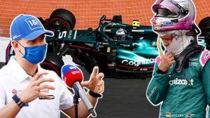 Mick Schumacher (Haas), Sebastian Vettel (Aston Martin)