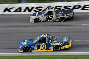 Todd Gilliland, Front Row Motorsports, Ford F-150 Speedco and Ben Rhodes, ThorSport Racing, Toyota Tundra Bombardier