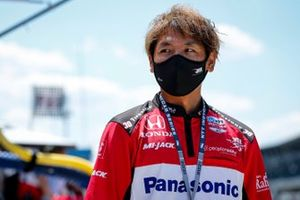 Takuma Sato, Rahal Letterman Lanigan Racing Honda crew member