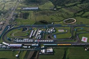 An aerial view of the Autodromo Miguel E. Abed