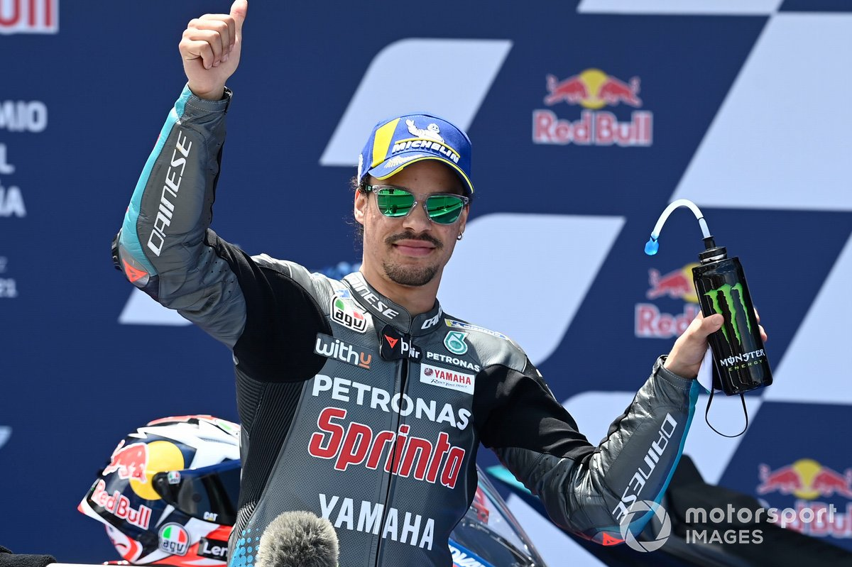 Segundo Franco Morbidelli, Petronas Yamaha SRT