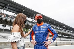 Scott Dixon, Chip Ganassi Racing Honda, Emma Dixon