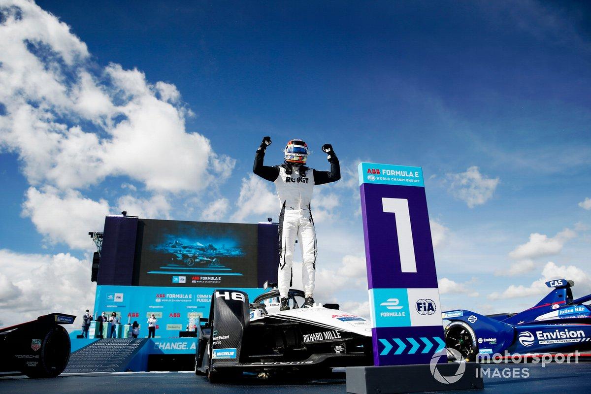 Ganador Edoardo Mortara, Venturi Racing, Silver Arrow 02