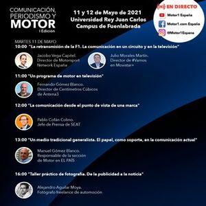 Comunicación, periodismo y motor: horarios y eventos de la jornada del martes 11 de mayo
