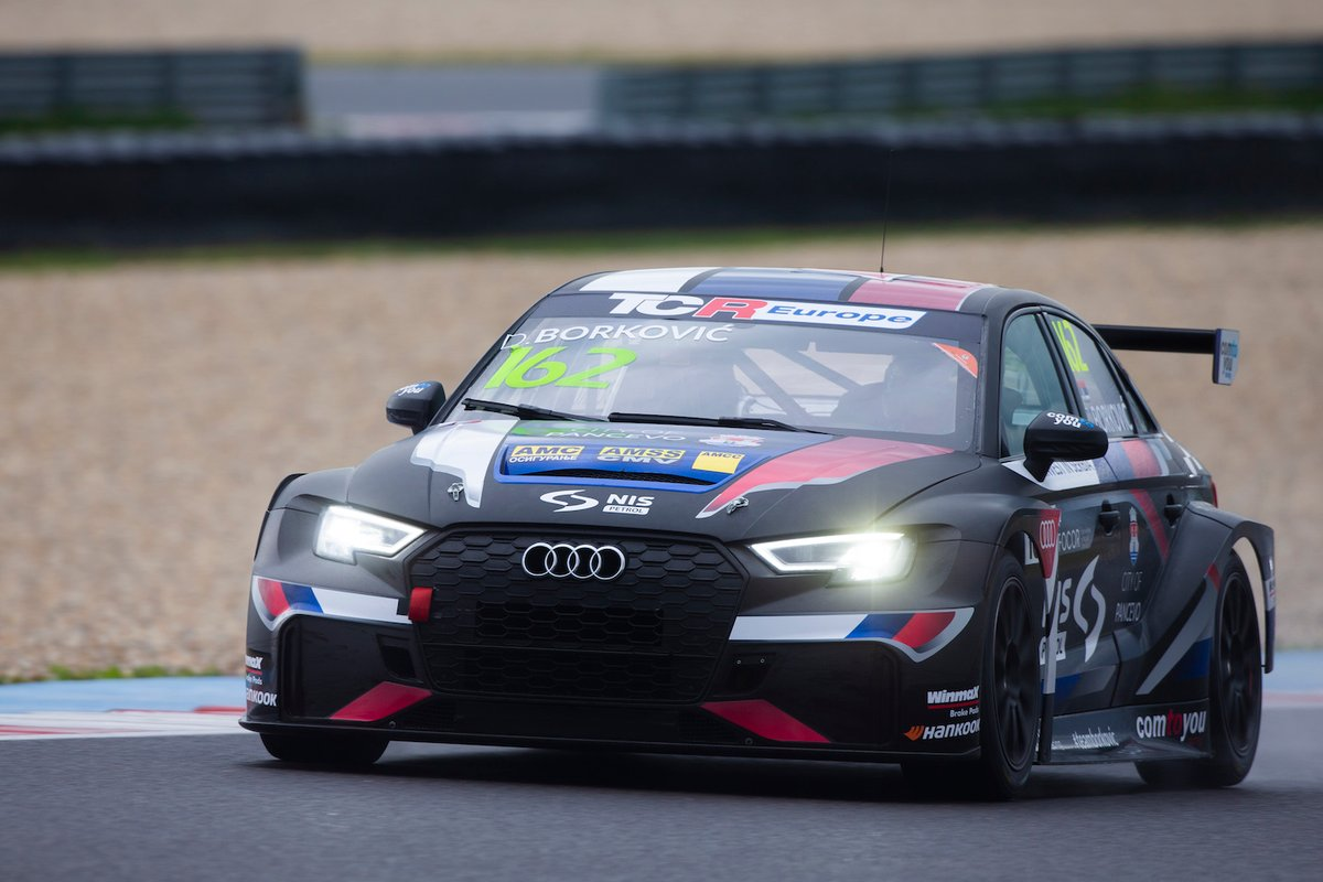 Dušan Borković, Comtoyou Racing, Audi RS 3 LMS TCR