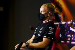 Valtteri Bottas, Mercedes in the Press Conference