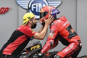 Pole position pour Jeremy Alcoba, Team Gresini Moto3