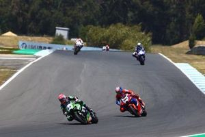 Lucas Mahias, Kawasaki Puccetti Racing, Leon Haslam, Team HRC