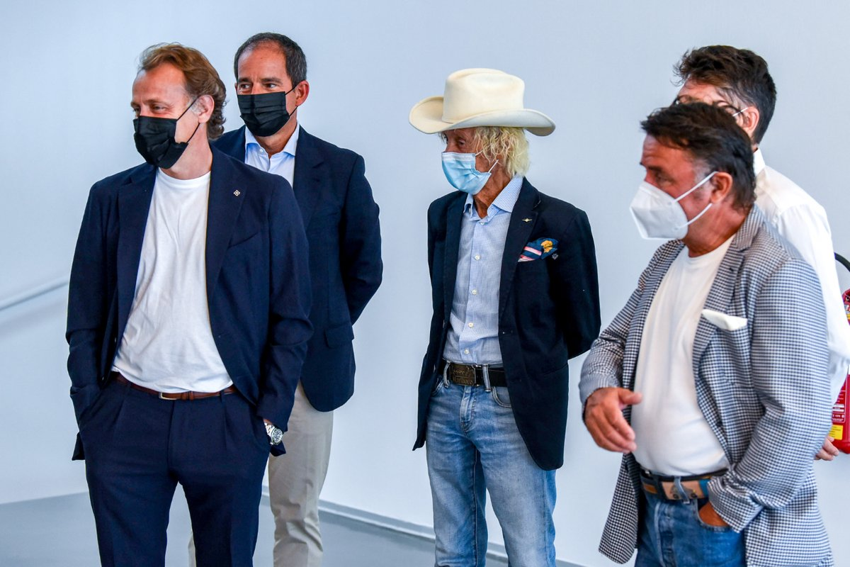 Luca Badoer, Arturo Merzario e Renè Arnoux