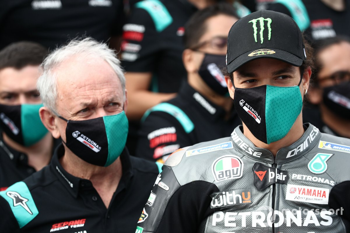 Franco Morbidelli, Petronas Yamaha SRT y Ramón Forcada