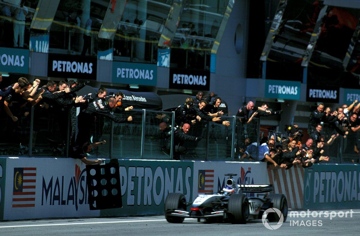 Kimi Räikkönen - 9 victoires (2003-2005)