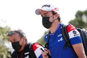 Фернандо Алонсо, Alpine F1