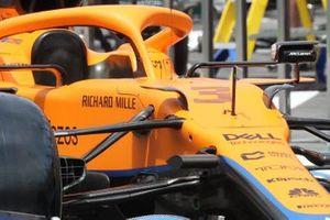 McLaren MCL35M front detail