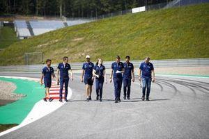 Nicholas Latifi, Williams, recorre la pista del GP de Estiria