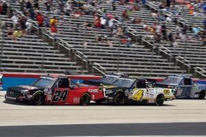 Chase Elliott, GMS Racing, Chevrolet Silverado Adrenaline Shoc, John Hunter Nemechek, Kyle Busch Motorsports, Toyota Tundra ROMCO