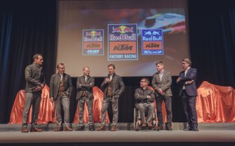 KTM Team launch presentation
