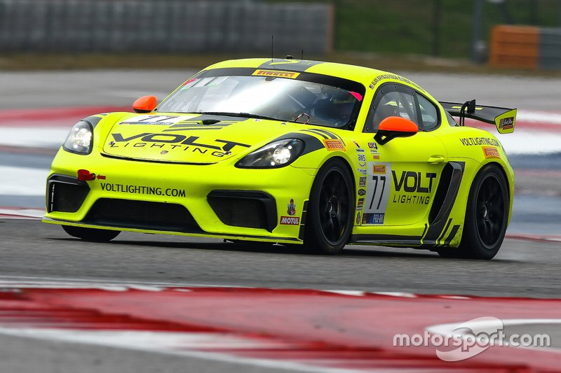 #77 Park Place Porsche Cayman: Trent Hindman and Alan Brynjolfsson