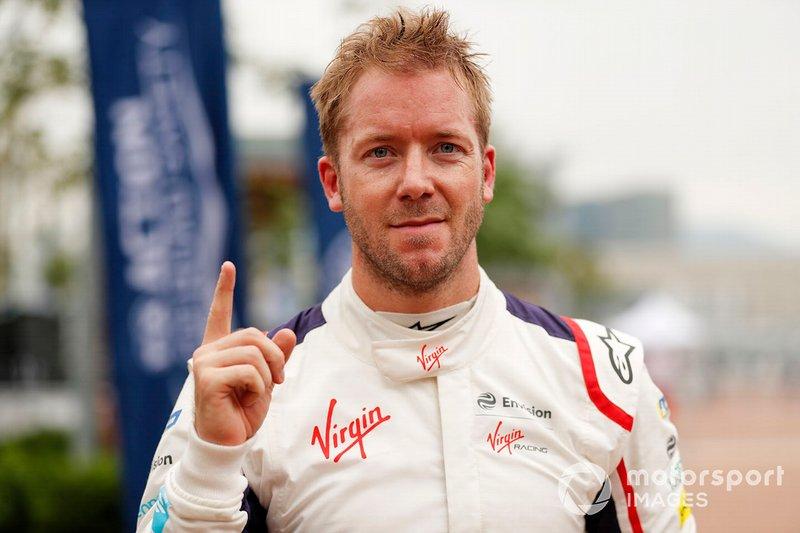 Sam Bird, Envision Virgin Racing, celebra