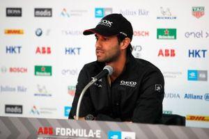 Felipe Nasr, GEOX Dragon Racing in the press conference