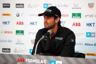 Felipe Nasr, GEOX Dragon Racing in the press conference