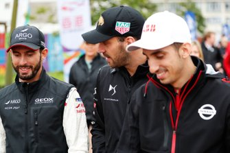 Jose Maria Lopez, Dragon Racing, Jean-Eric Vergne, DS TECHEETAH, Sébastien Buemi, Nissan e.Dams walk to the autograph session