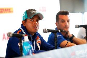 Cacá Bueno, Jaguar Brazil Racing, in conferenza stampa